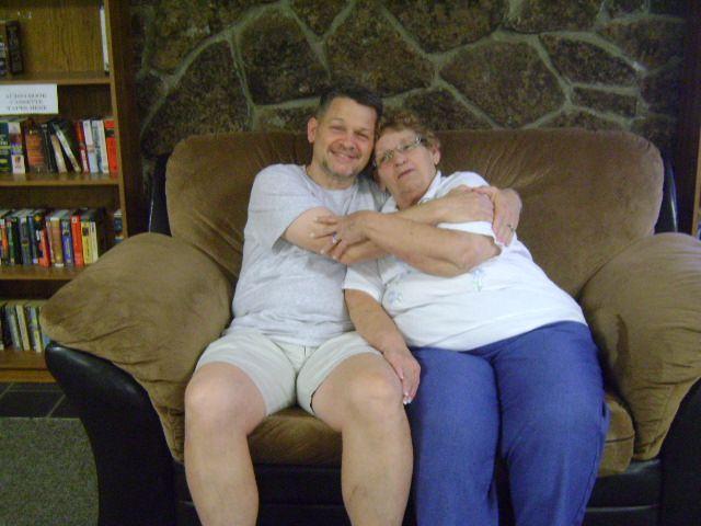 Richard and his mom.