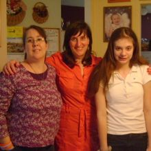 Jane, Nicole and Denise during her February 2012 visit to see them.