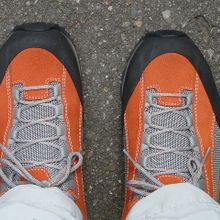 New shoes require an adjustment and faith that they will take you where you need to go.