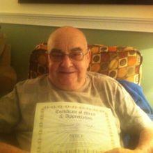 I graduated from radiation treatments!