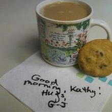 G-J's note to Kathy.