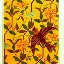 Design - Textile - Embroidery pattern, 1878 -  (6)
