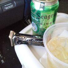 First-class snacks.