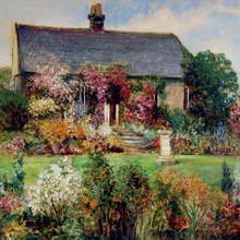 John_Falconer_Slater_The_Flower_Garden