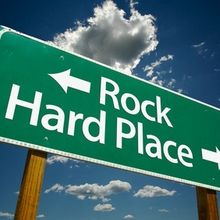 rock-and-hard-place