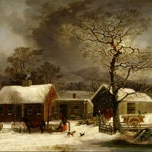 794px-George_Henry_Durrie_-_Winter_Scene_in_New_Haven__Connecticut_-_Google_Art_Project